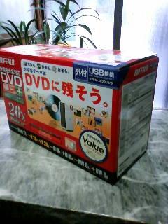 バッファロー DVD-RAMドライブ DVSM-XE20U2/B