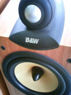 スピーカー B&W CD7NT