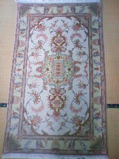 ペルシャ絨毯 ウール 玄関