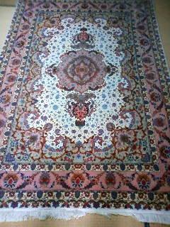 ペルシャ絨毯 シルク 150X220