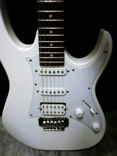 エレキギター IBANES GRX40-PW