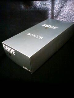 コンデンサーマイク RODE NT2-A