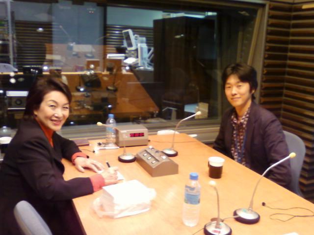 RKBラジオ9:00~ 林田スマのハートフルトーク  スタジオにて